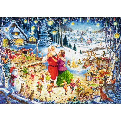Christmas Jigsaw Puzzles.Puzzle The Feast Of Feasts