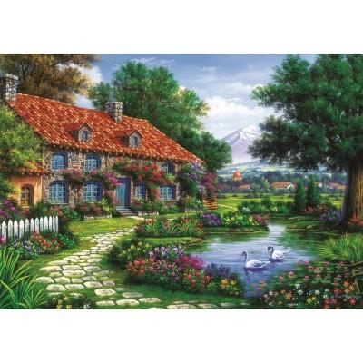 Puzzle Art-Puzzle-4551 Der Garten