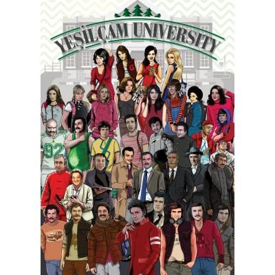 Puzzle Art-Puzzle-4588 Yesilcam University
