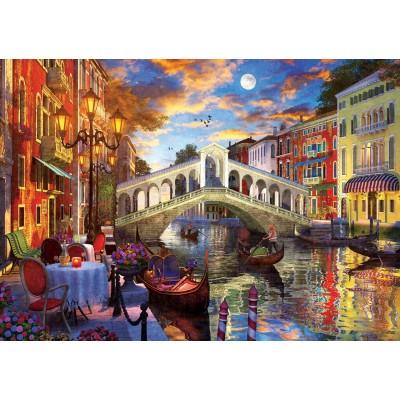 Puzzle Art-Puzzle-5372 Rialtobrücke, Venedig