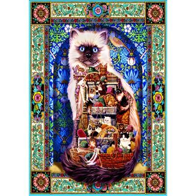 Puzzle Bluebird-Puzzle-70154 Cats Galore