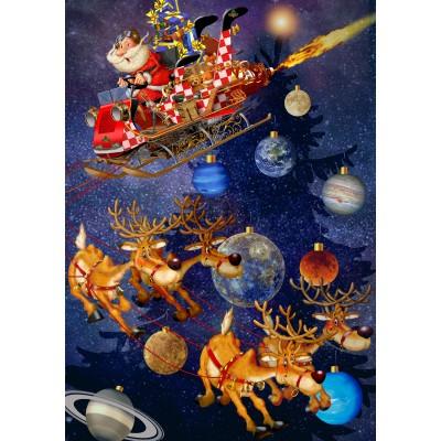 Puzzle Bluebird-Puzzle-70445 Santa Claus is arriving!