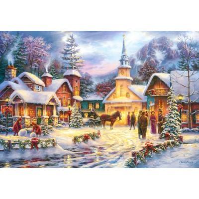 Puzzle Castorland-151646 Faith runs Deep