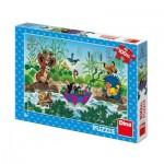 Puzzle  Dino-34342