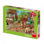 Puzzle  Dino-34345