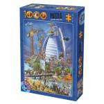 Puzzle  Dtoys-61218-CC12-(74690)