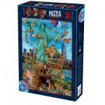 Puzzle  Dtoys-61218-CC13-(74706)