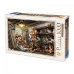 Puzzle  Dtoys-72894-CT01