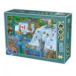 Puzzle  Dtoys-75932-CC14