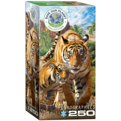 Puzzle Eurographics-8251-5559 Save the Planet - Tigers
