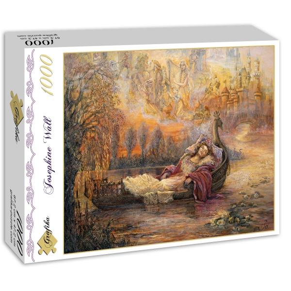Josephine Wall Dreams of Camelot 59066 Puzzle Grafika 1000 Teile
