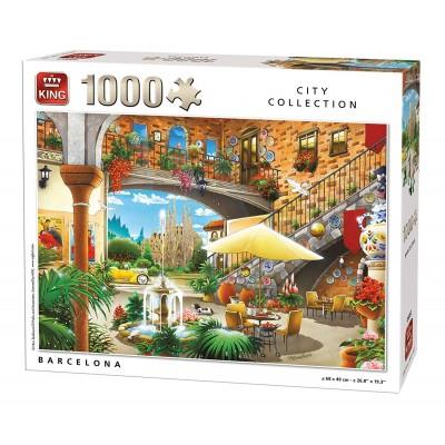Puzzle King-Puzzle-55853 Barcelona