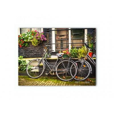 Pintoo-P1117 Puzzle aus Kunststoff - Amsterdam