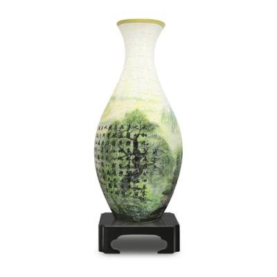 Pintoo-S1005 Puzzle 3D Vase aus Kunststoff 160 Teile - Lan Ting Xu