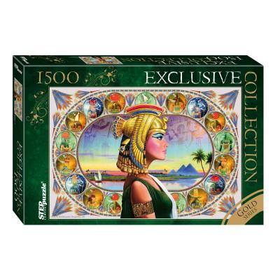 Puzzle Step-Puzzle-83403 Gold Series - Nefertiti