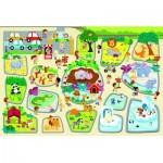 Puzzle  Trefl-90756